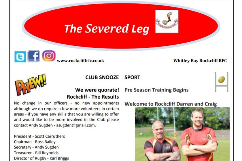 Latest copy of the Severed Leg