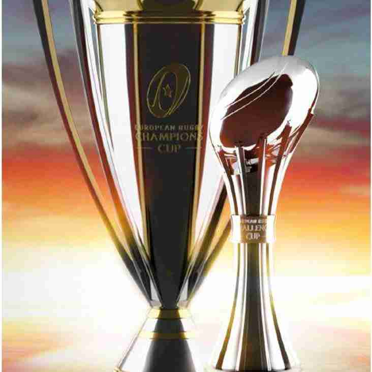 European Trophy Tour comes to Rockcliff Rugby Club