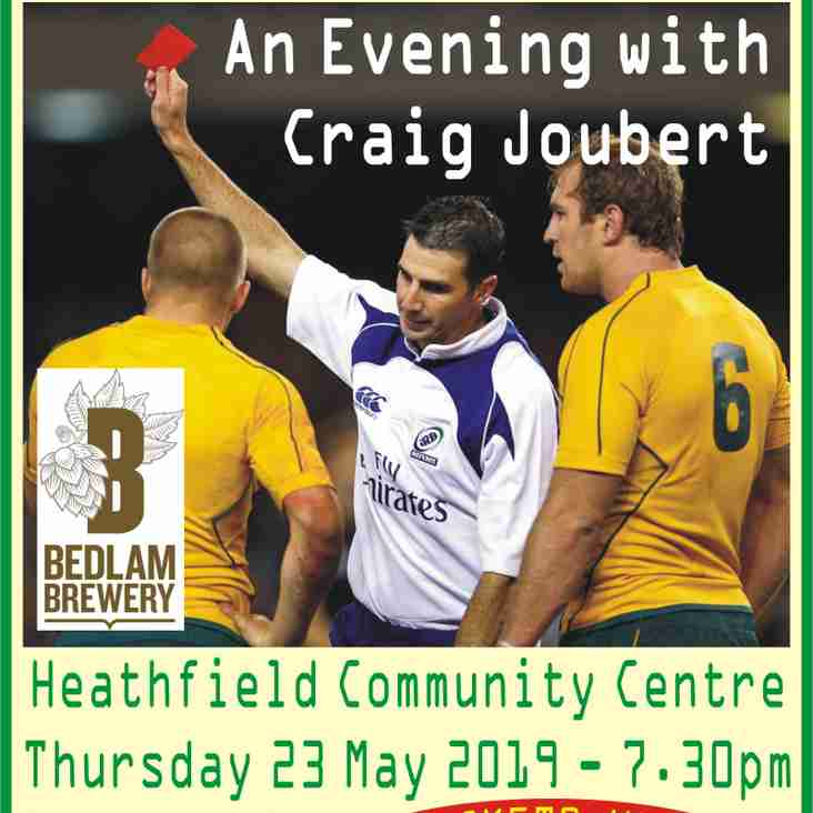 Crossing The Line - An Evening With Craig Joubert