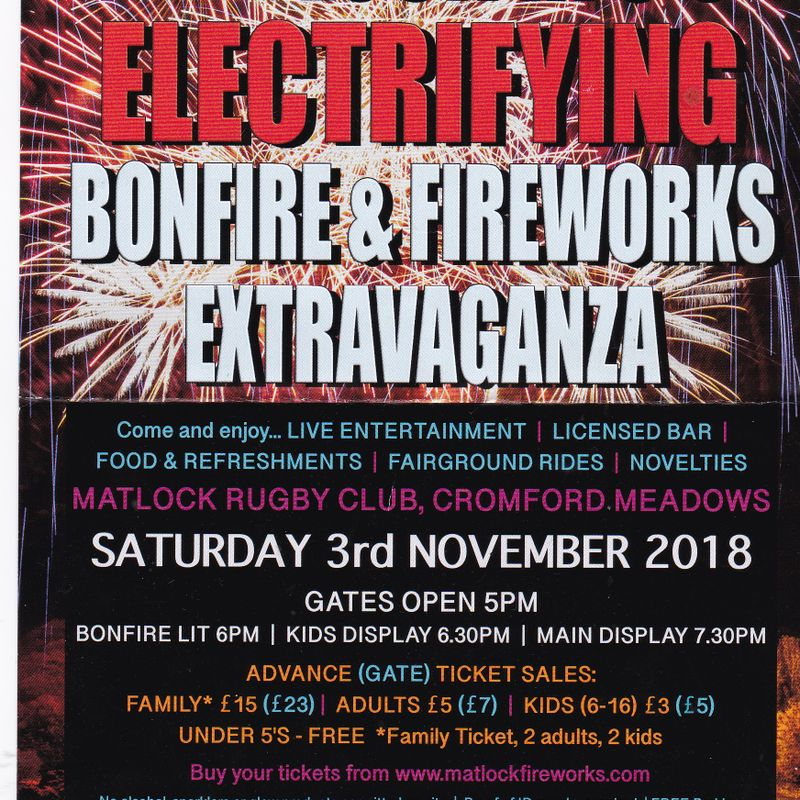 Electrifying Bonfire and Firework Extravaganza!
