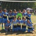 Under 12 Kestrels Sunday Team beat Fleur de lys 6 - 0