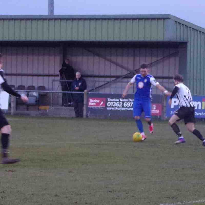 Aveley FC vs Dereham Town - Away - 19/01/19
