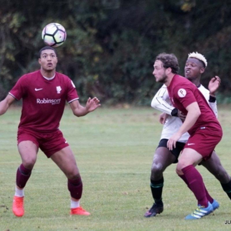 Canterbury City University 4 - 4 Staplehurst Monarchs United Reserves