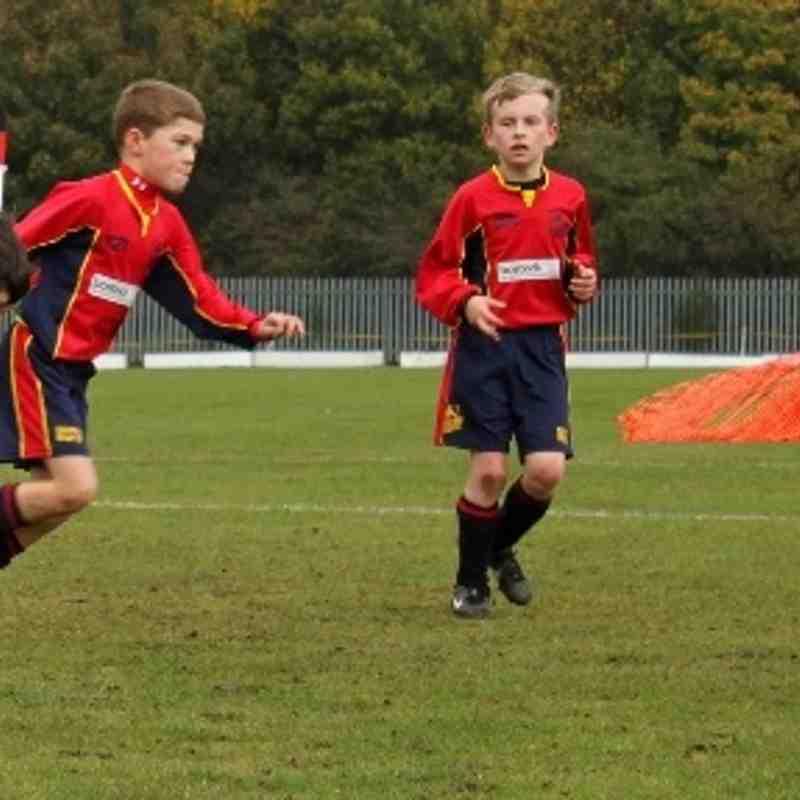 BTYFC Under 9 Red v Blidworth