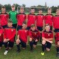 Under 14 Red beat Bingham Town U14 Blues 2 - 0