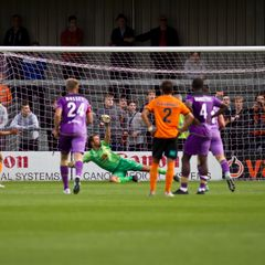 Barnet v Maidenhead United. Images Sponsored By Cordwallis Group. Cordwallis.com