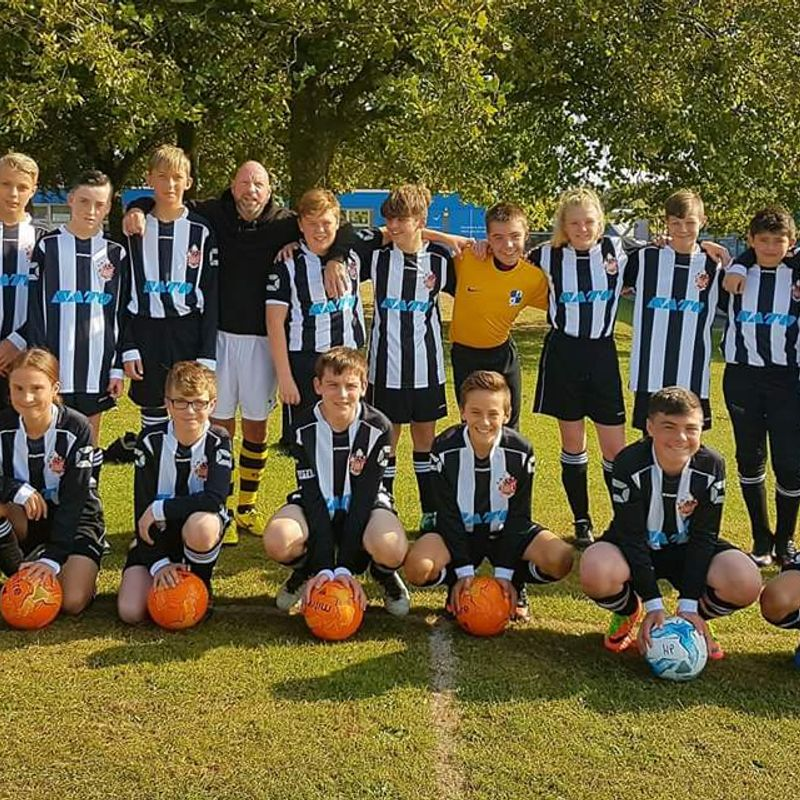 U14 lose to COGGESHALL TOWN