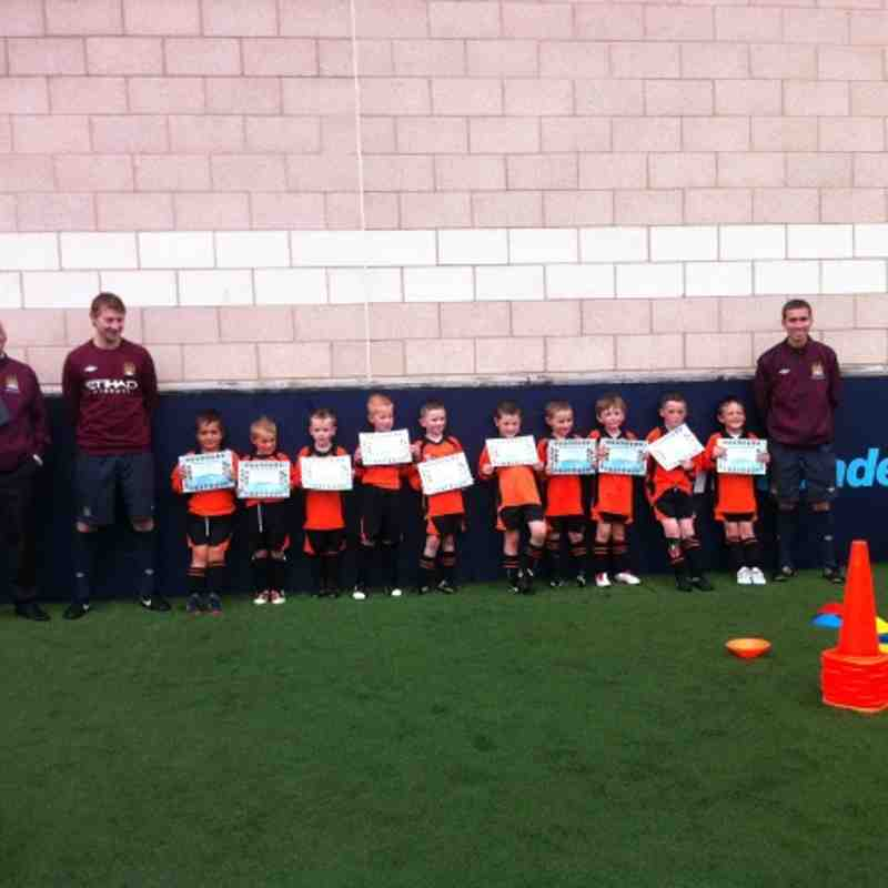Under 7s Black Training session  @ MCFC