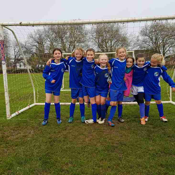 Maidenhead U10 Girls vs Wargrave Tigers