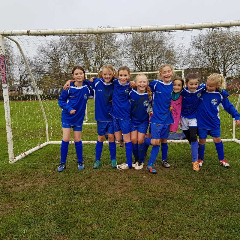 Maidenhead U10 Girls vs Wargrave Tigers