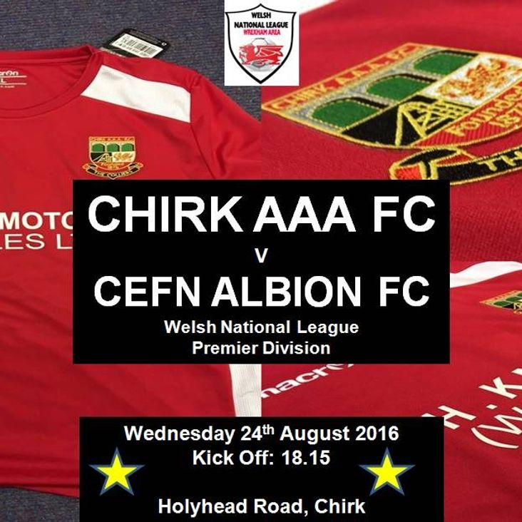 CHIRK AAA v CEFN ALBION<