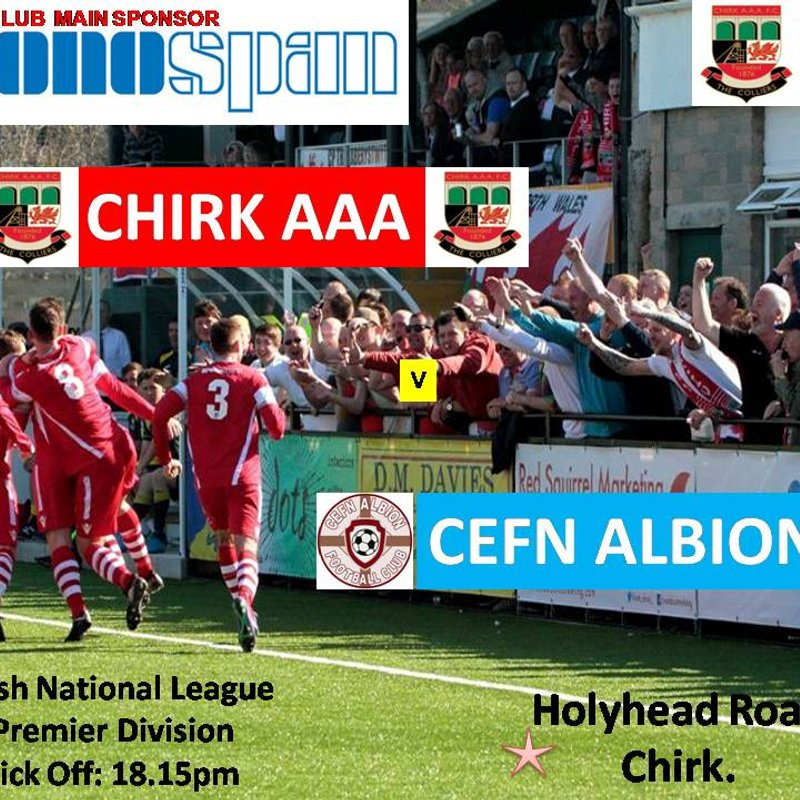 CHIRK AAA v CEFN ALBION