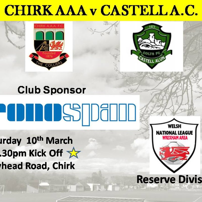 CHIRK AAA RES v CASTELL A.C. RES