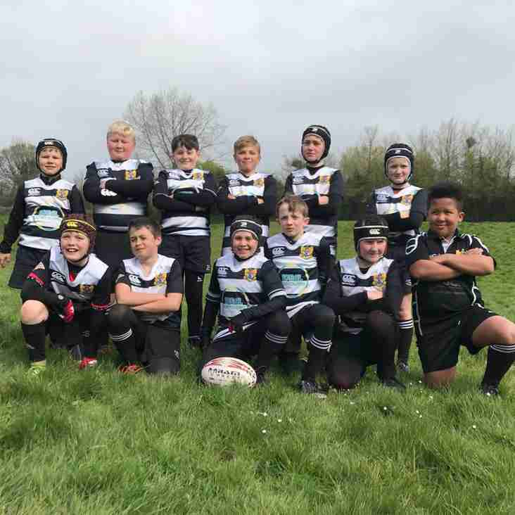 U10's amazing performance  at Exeter Saracens U10s rugby festival.