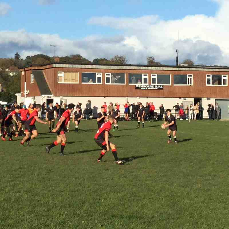 Wimborne Colts 35 Bournemouth 19