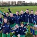 Girls U11 - Phil & Morgan beat Swords Manor 2 - 6