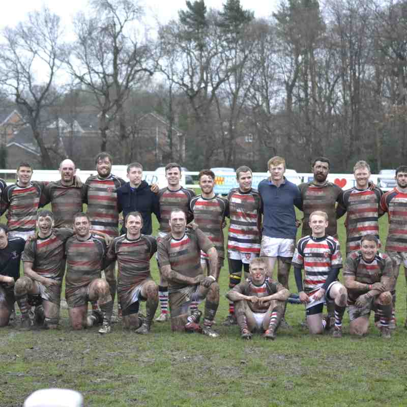 Novocastrians 2nd XV v Percy Park 2nd XV Northumberland Plate Final