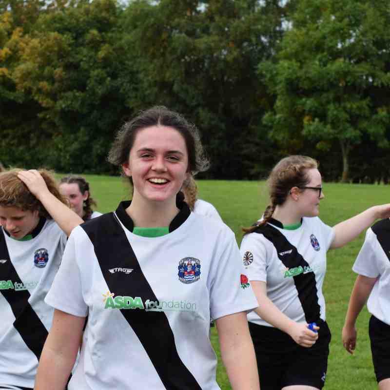 Burton U18 Girls v Tamworth 24th Sept 17