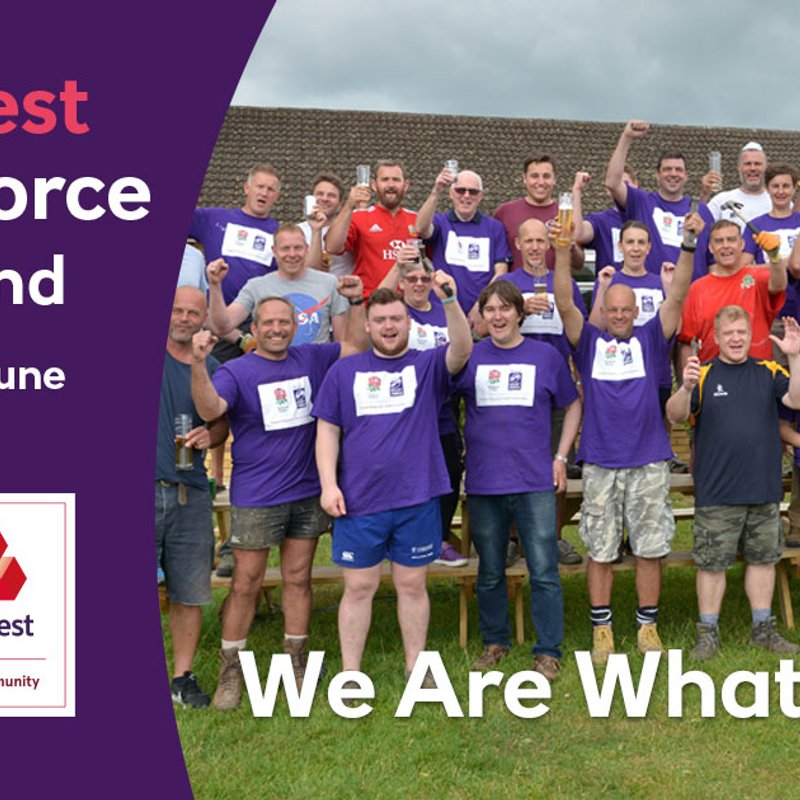 WE NEED YOU... Natwest RugbyForce 23rd & 24th June