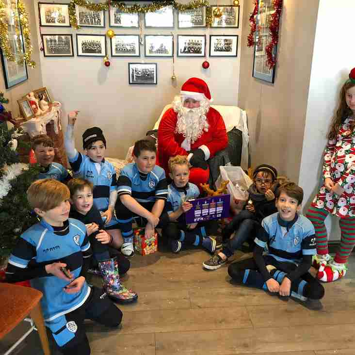 Mini & Juniors come together to celebrate Christmas at the Club
