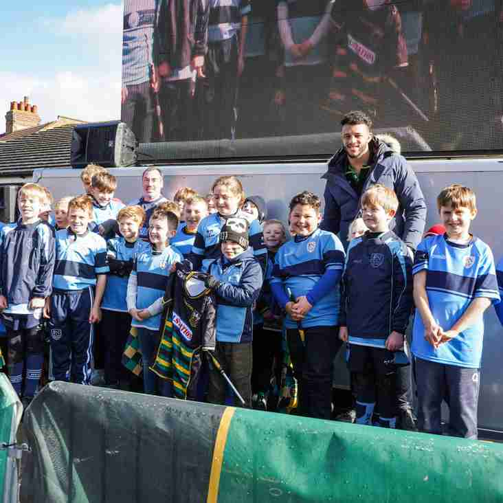 Saint Neots RUFC has a great day at Northampton Saints for the Premiership Cup