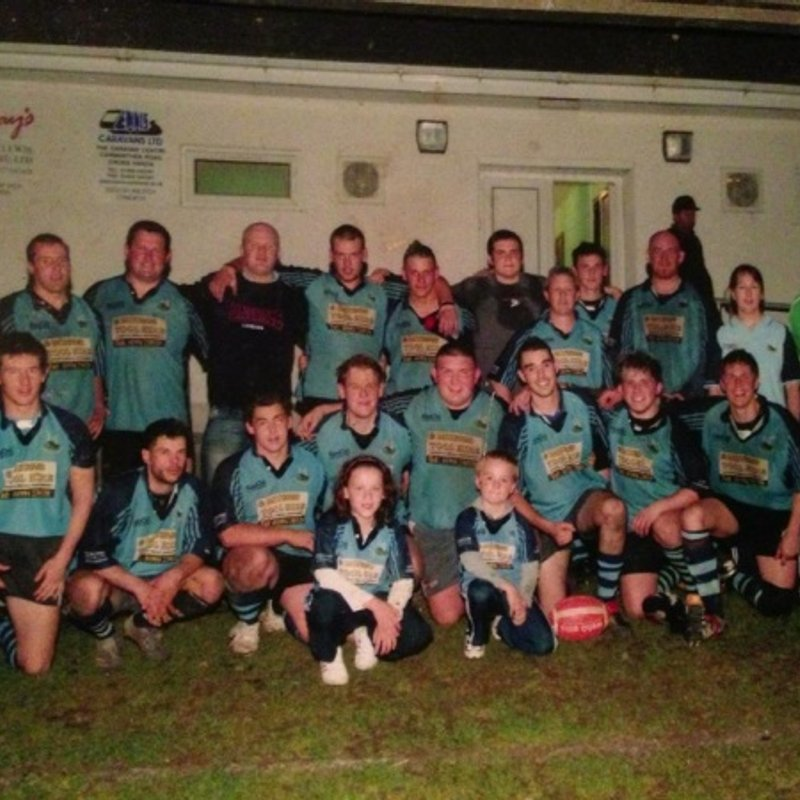 1st lose to Whitland RFC 3 - 17