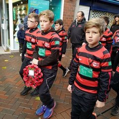 Paying our respects on Remembrance Day 2017