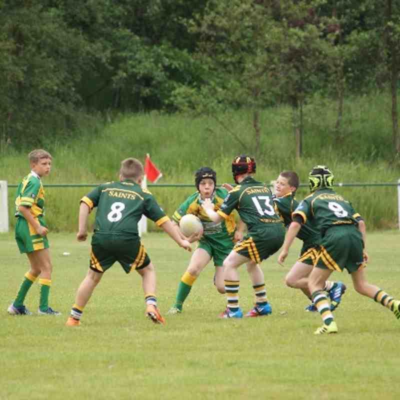 Woolston Under 10's V Oldham St Annes 14.06.14