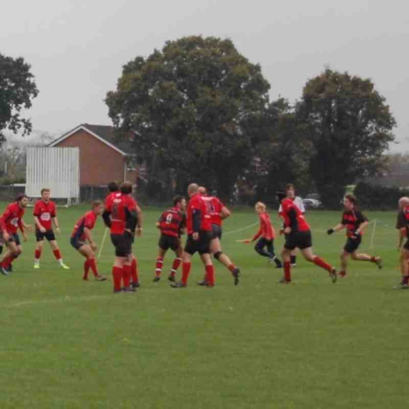 Fawley 1st XV vs Fareham Heathens 12/11/11