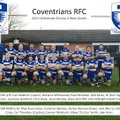 Coventrians 1st XV lose to Burbage 43 - 0