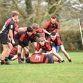 Alton U16 players have a taste of Colts rugby