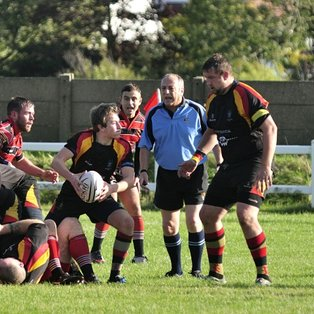 SOUTHPORT BREACH THE WALLASEY WALL TO SECURE BONUS POINT