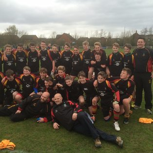 u14s SECURE A PLATE IN HISTORY