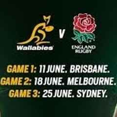 ENGLAND v WALES LIVE AT THE CLUB, NOW FOR THE AUSSIES!