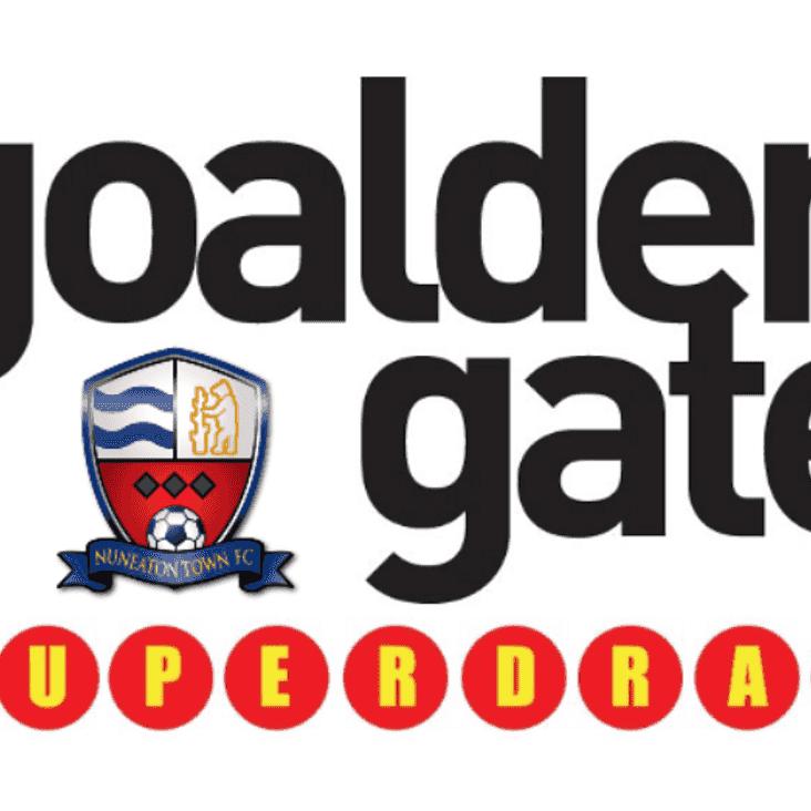 GOALDEN GATE SUPERDRAW: Week 50 Results