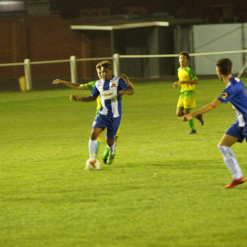 MATCH REPORT: FA Youth Cup 1st Qualifying Round