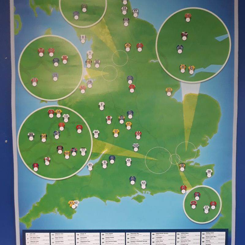 Boro' accept generous donation from Football Ground Map