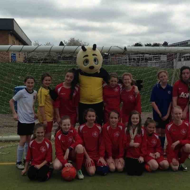 Watford FC U12 Girls Day out 2014