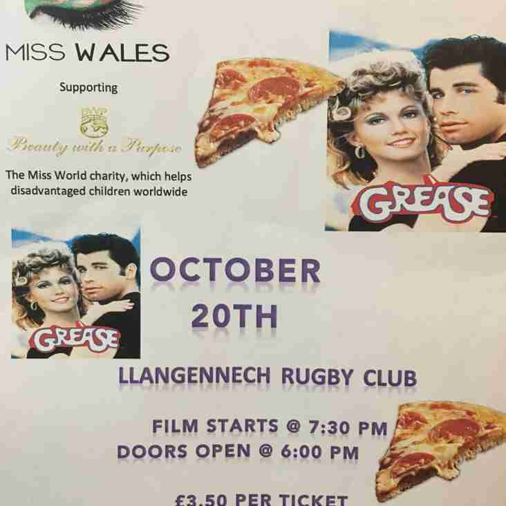 Charity Movie & Pizza Night this Friday!