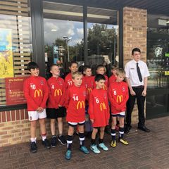 U11's McDonald's visit!