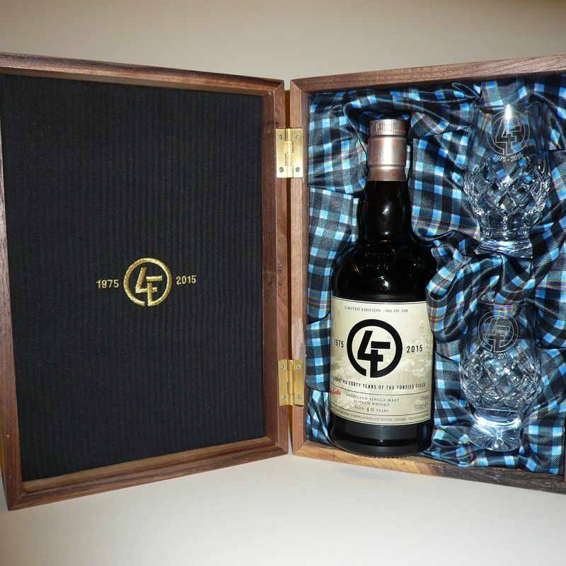 Silent Auction Launched for 40-year old Commemorative Whisky