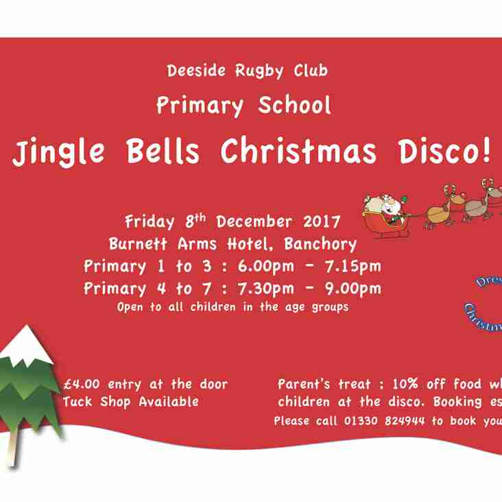 Deeside RFC Primary Schools Christmas Disco