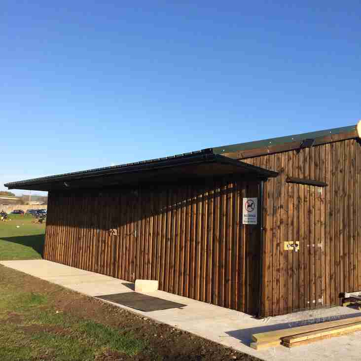 Equipment Shed - Latest Photos
