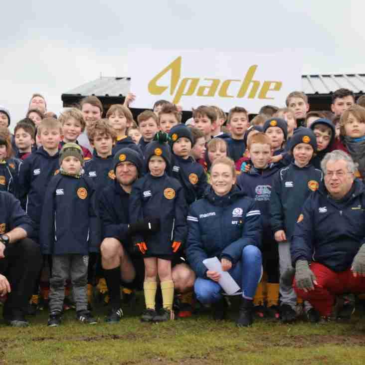 Deeside Rugby Welcomes Hollie Davidson