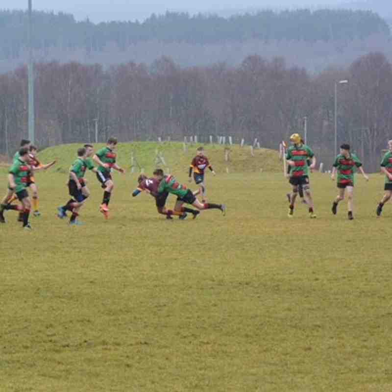 Deeside U15 vs Highland 14-01-18