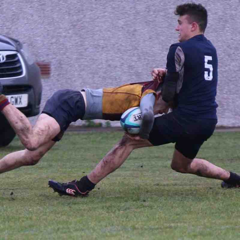 Deeside U16 vs Madras 28-01-18