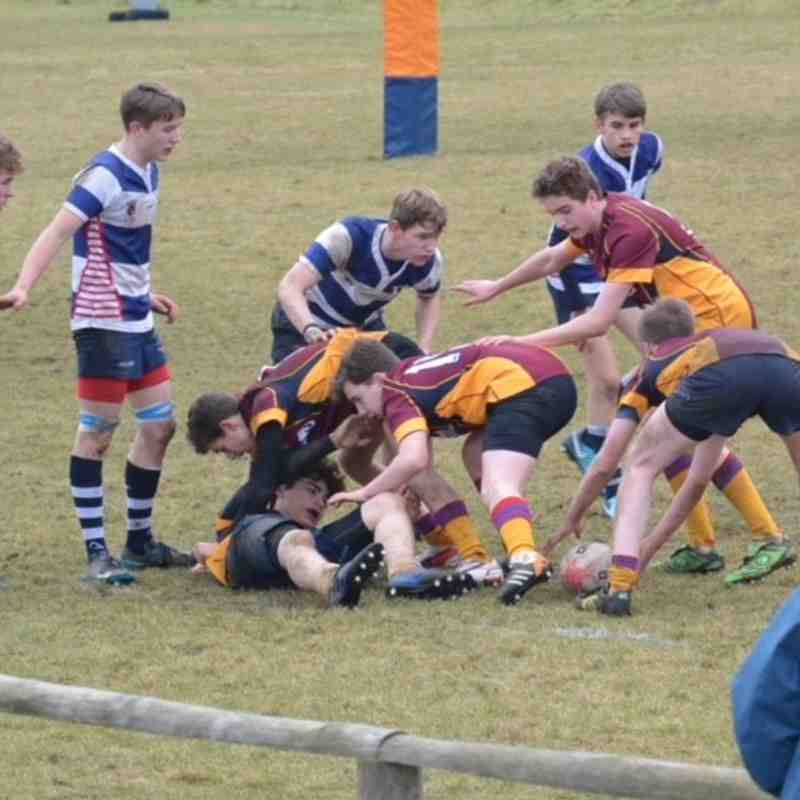 Deeside U15s vs Howe of Fife 28-01-18