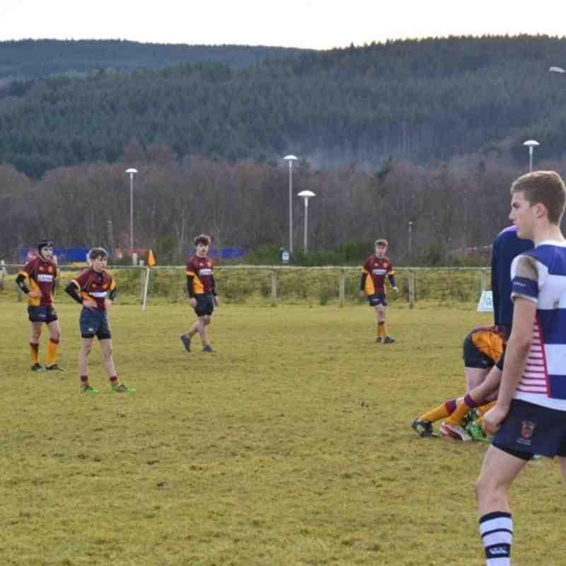 Deeside U15s vs Howe of Fife 28-01-18