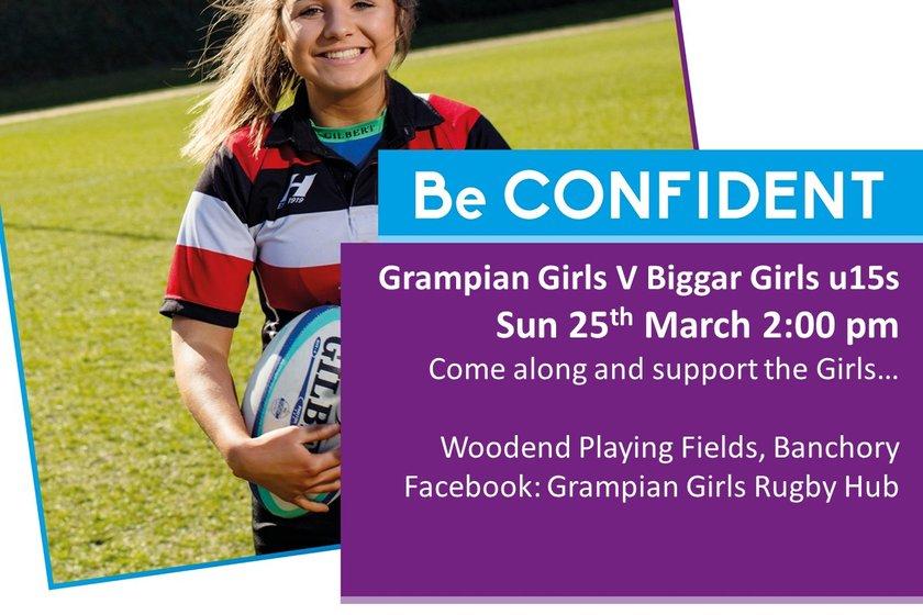 Grampian Girls v Biggar - Sunday, 25 March @ 2.00pm