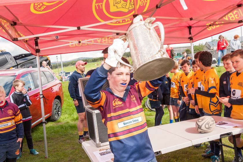 Calcutta Cup Makes a Visit to Banchory